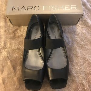 Marc Fisher wedge only worn 1 time
